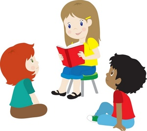 kids boys and girls reading books at story time 0071 0907 2514 5212 SMU