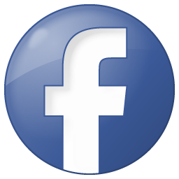 social facebook button blue 256